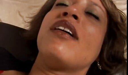 BBW người phim sec con va me Pháp brunette đập và jizzed trên cô ấy khổng lồ ngực