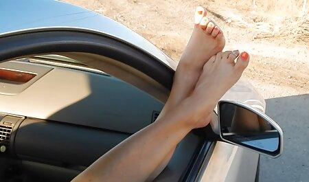 Blond Cam Feet Tóc ngắn KHÔNG CÓ ÂM phim sec loan luan me va con THANH